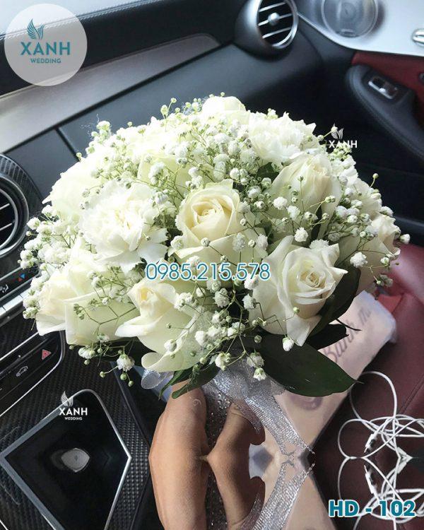 Hoa cầm tay cô dâu HD-102