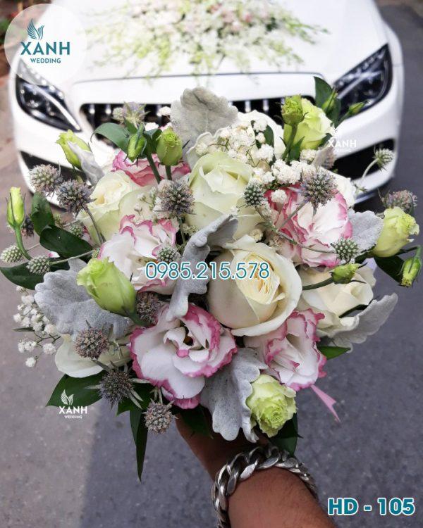 Hoa cầm tay cô dâu HD-105