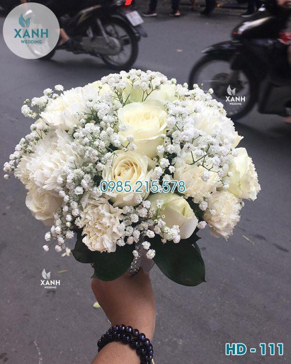 Hoa cầm tay cô dâu HD-111