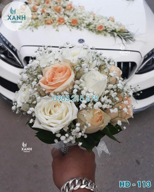 Hoa cưới cầm tay HD-113