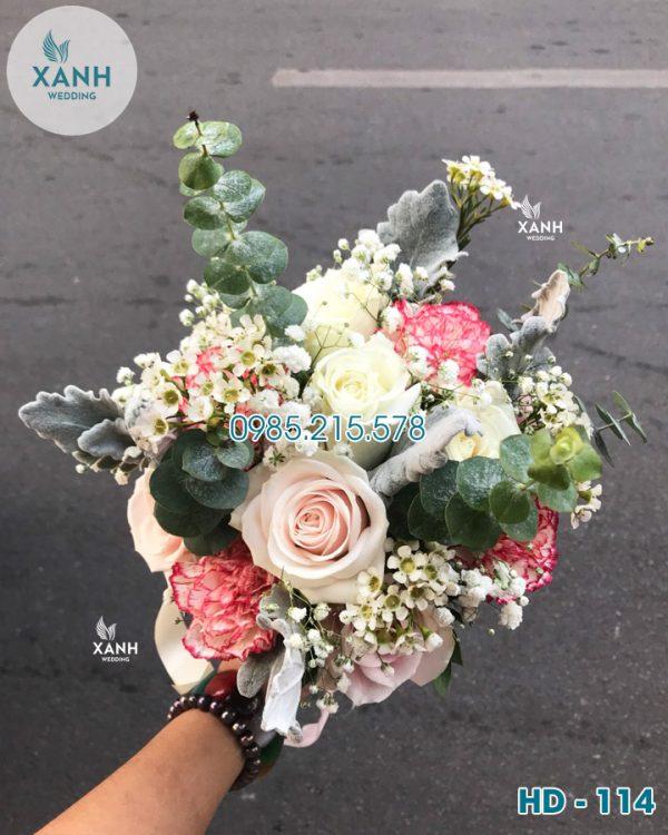 Hoa cầm tay cô dâu HD-114