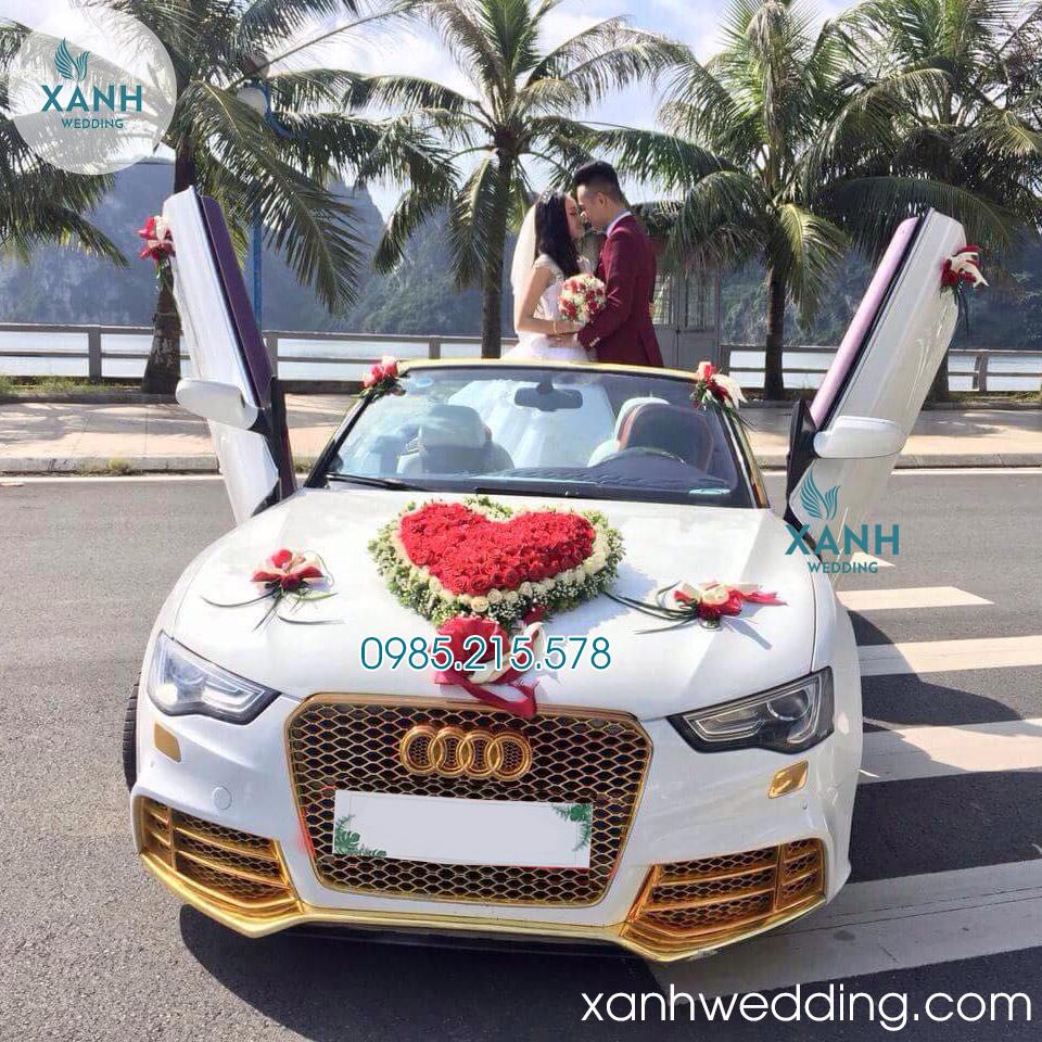 Thuê xe cưới Audi RS5 Mui Trần