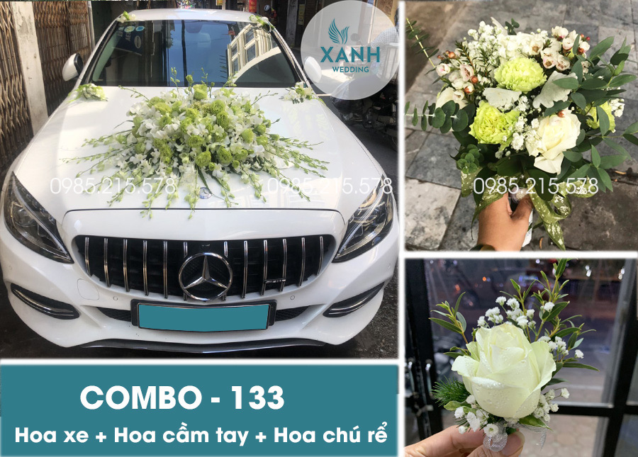 Trang trí xe hoa đẹp