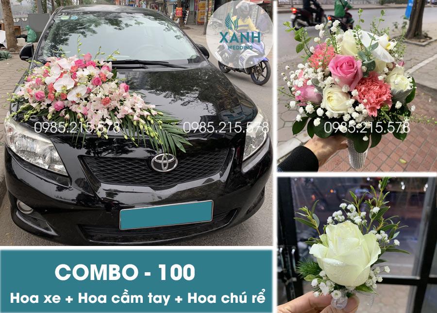 Hoa xe cưới đẹp tại Hà Nội