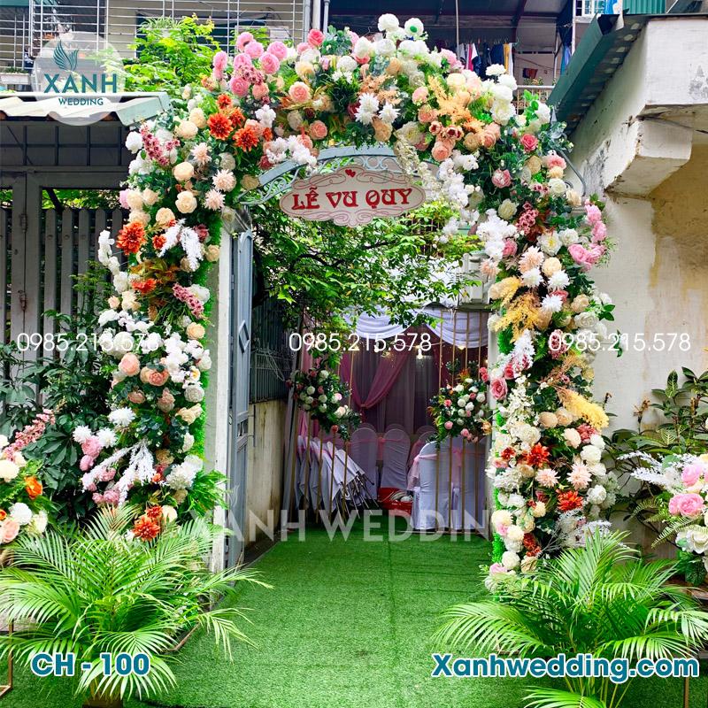 Cổng hoa cưới đẹp CH-100