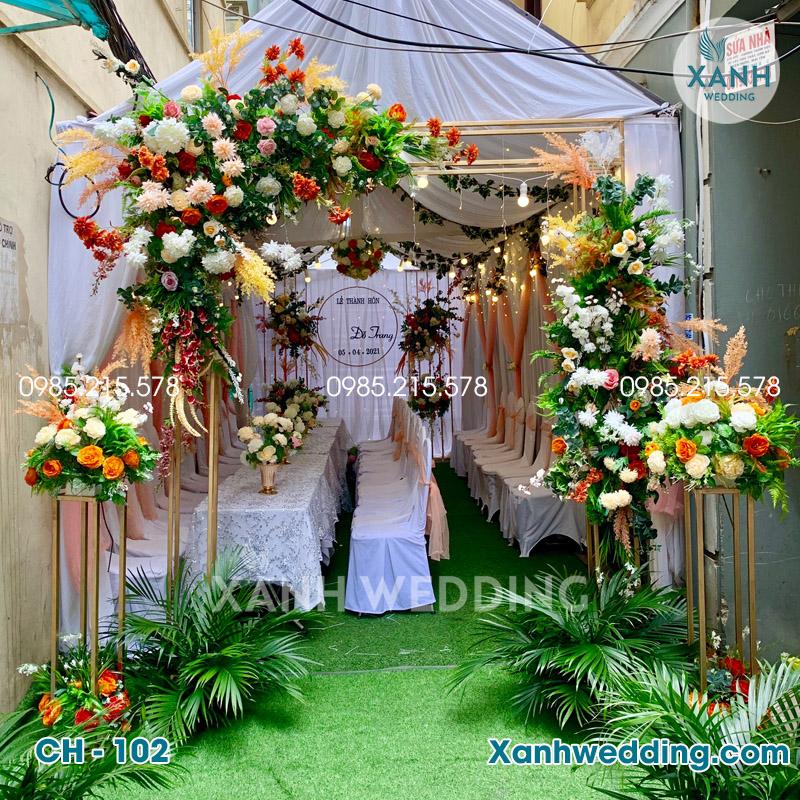 Cổng hoa cưới đẹp CH-102