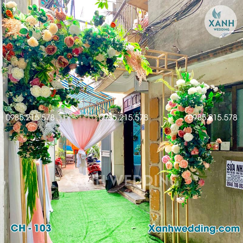 Cổng hoa cưới đẹp CH-103