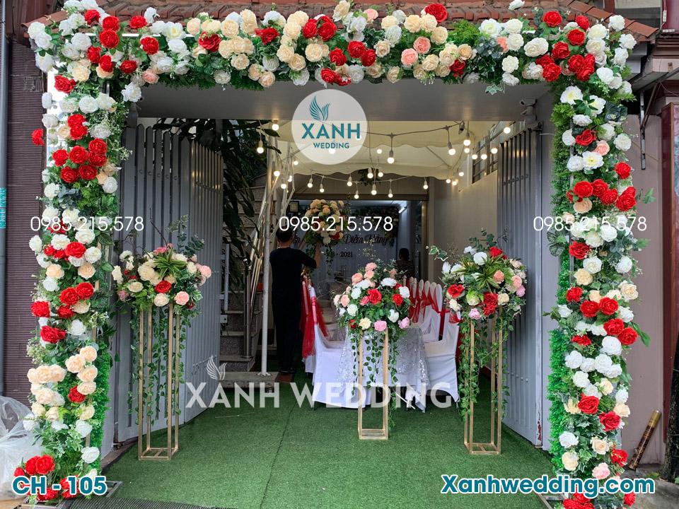 Cổng hoa cưới đẹp CH-105