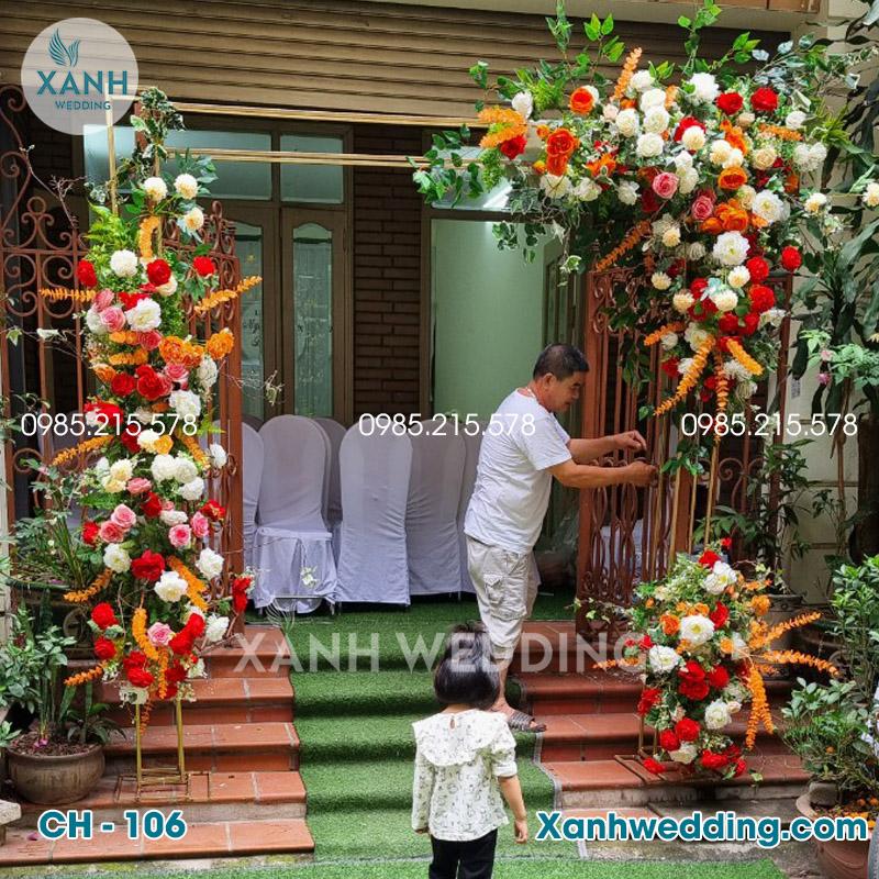 Cổng hoa cưới đẹp CH-106