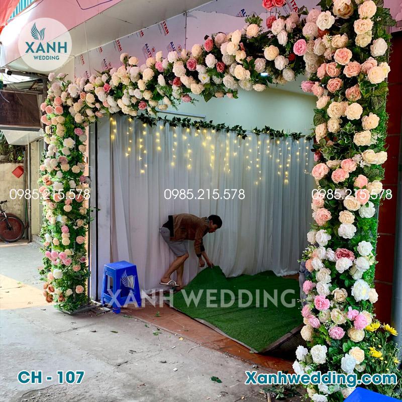 Cổng hoa cưới đẹp CH-107