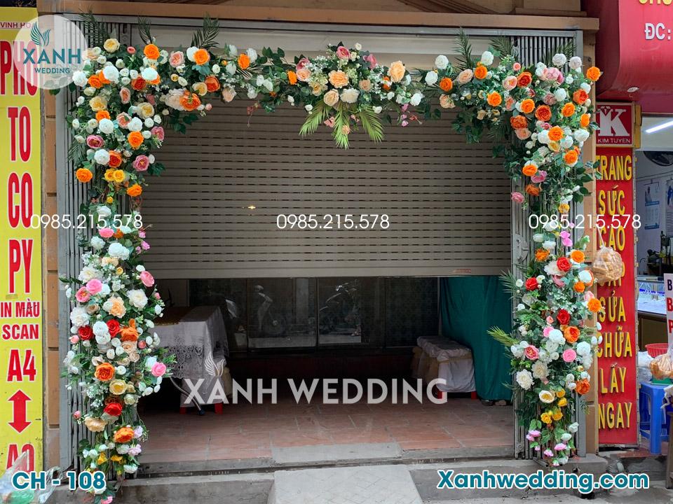 Cổng hoa cưới đẹp CH-108