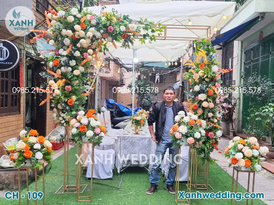 Cổng hoa cưới đẹp CH-109