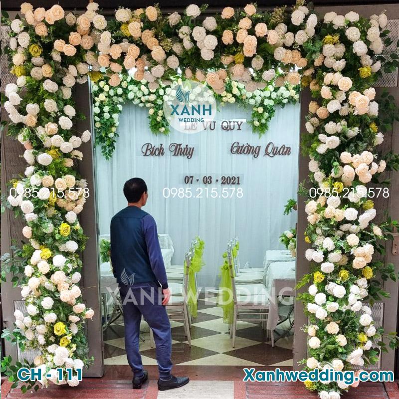 Cổng hoa cưới đẹp CH-111