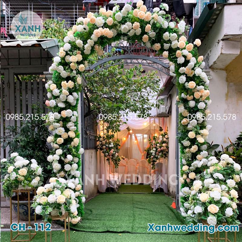 Cổng hoa cưới đẹp CH-112