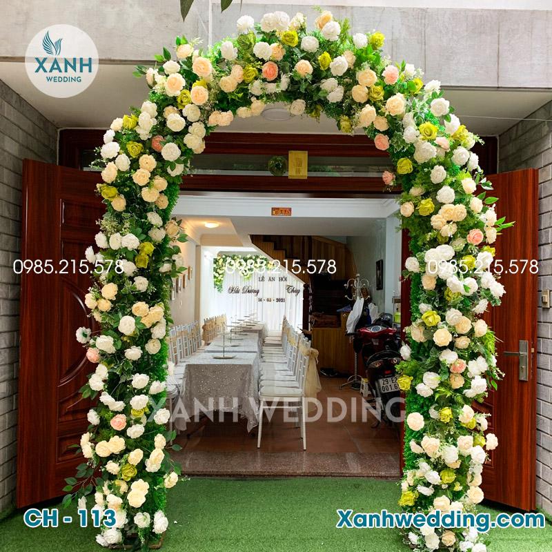 Cổng hoa cưới đẹp CH-113