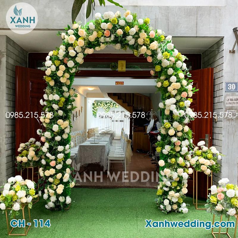 Cổng hoa cưới đẹp Ch-114