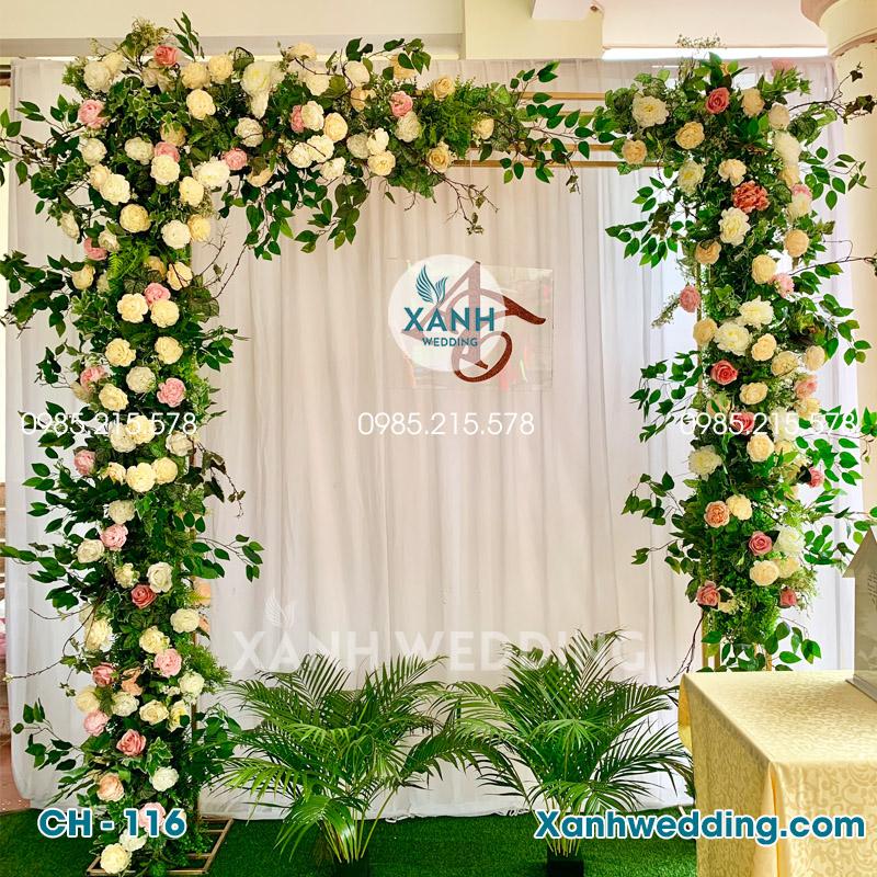 Cổng hoa cưới đẹp CH-116