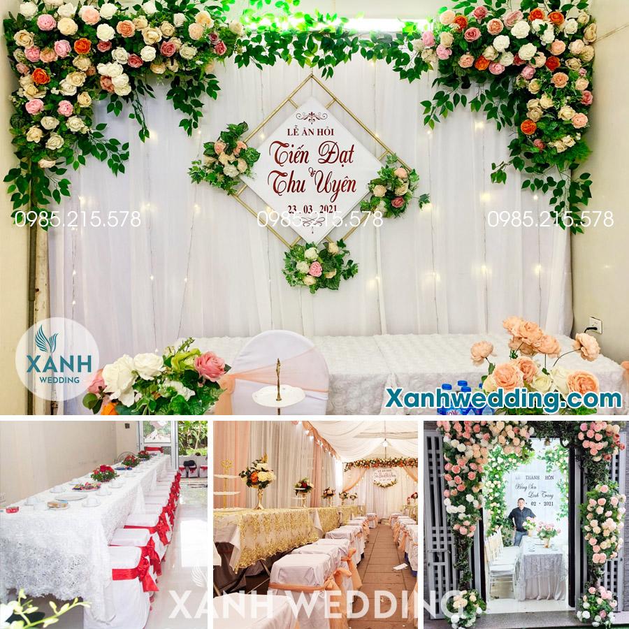 Trang trí đám cưới trọn gói tại Hà Nội Combo CB02