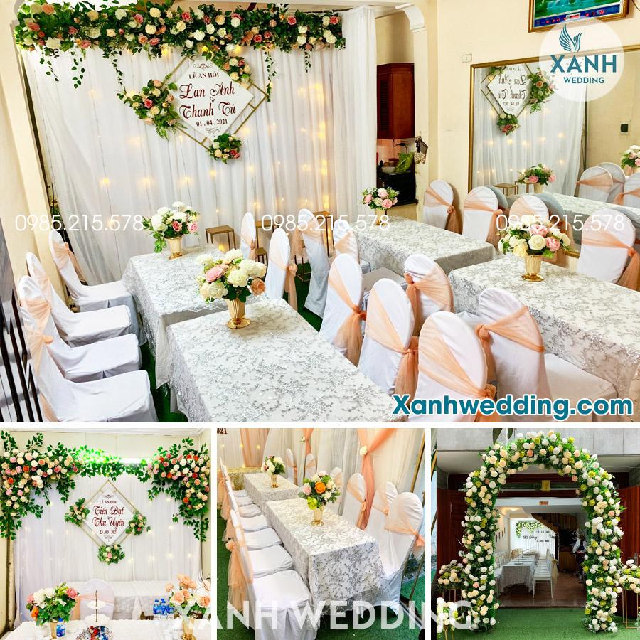 Trang trí đám cưới trọn gói tại Hà Nội Combo CB03