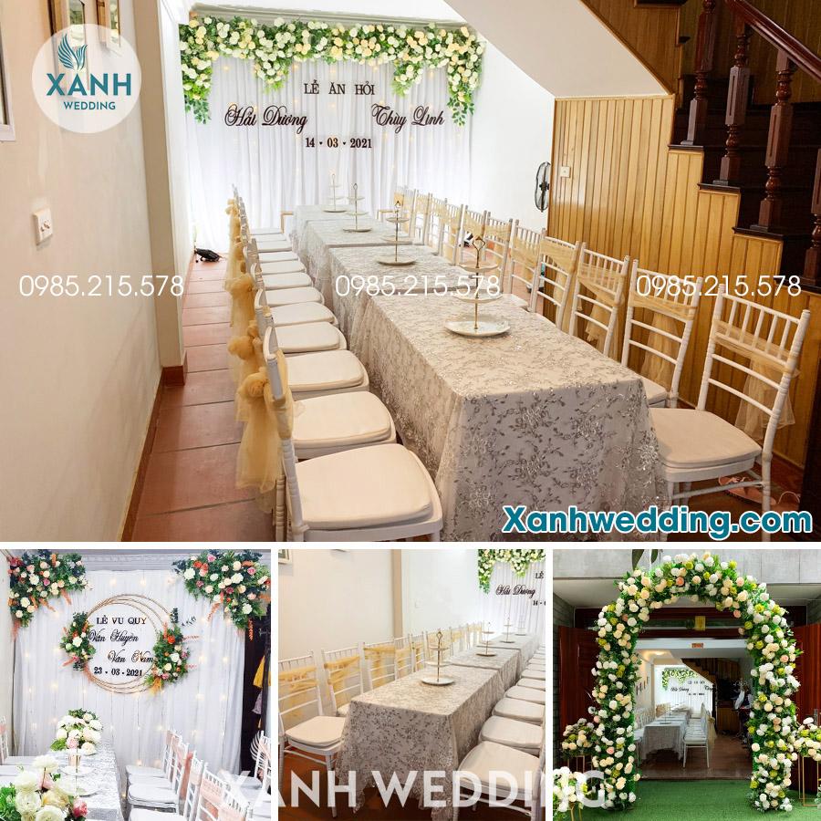 Trang trí đám cưới trọn gói tại Hà Nội Combo VIP02