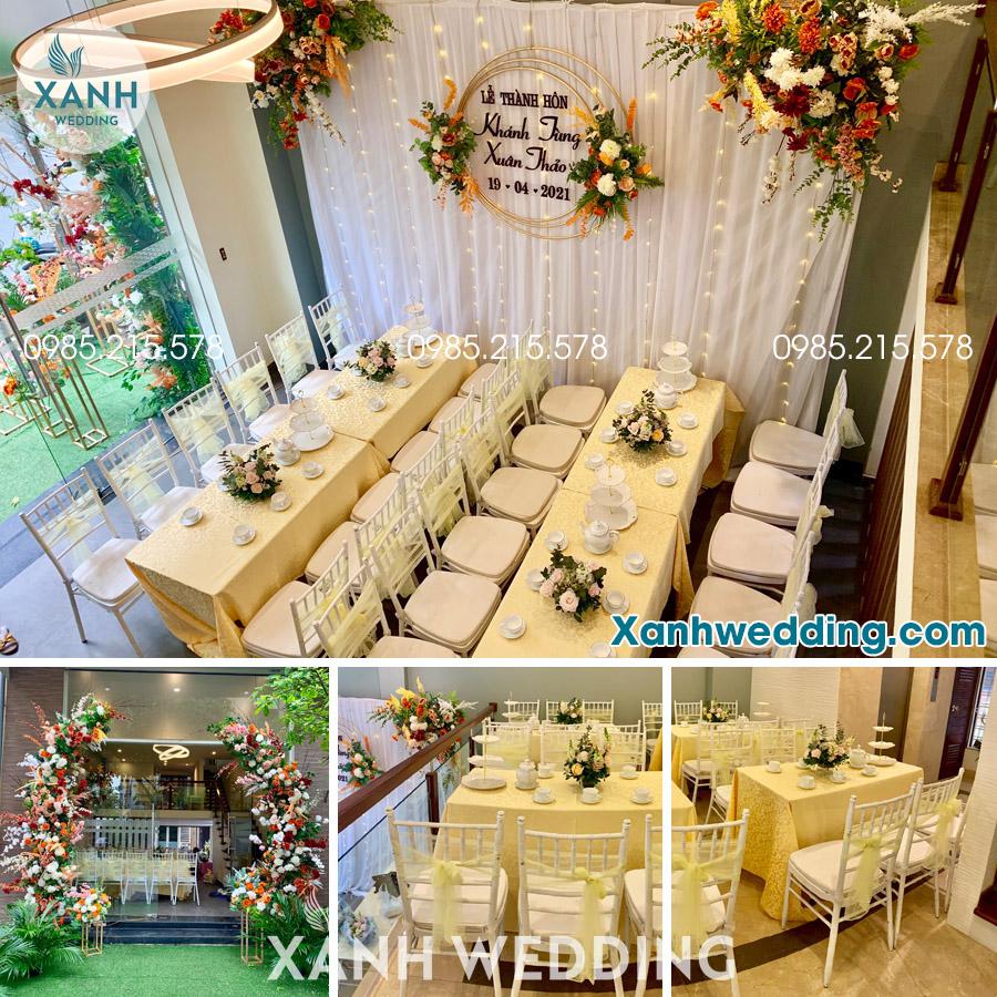 Trang trí đám cưới trọn gói tại Hà Nội Combo VIP04