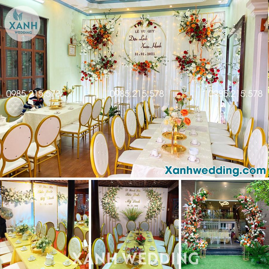 Trang trí đám cưới trọn gói tại Hà Nội Combo VIP05